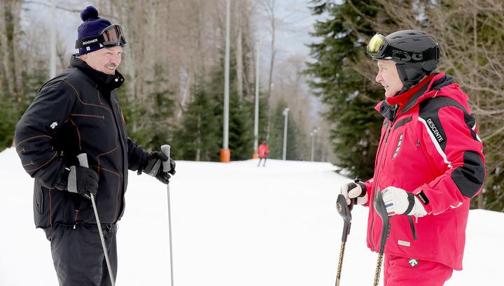 Встреча на высоте: что обсудили в горах Путин и Лукашенко