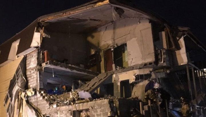 В Красноярске завершены поисковые работы на месте взрыва газа