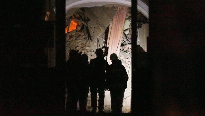 В здании ИТМО приступают к разбору конструкций в зоне обрушения