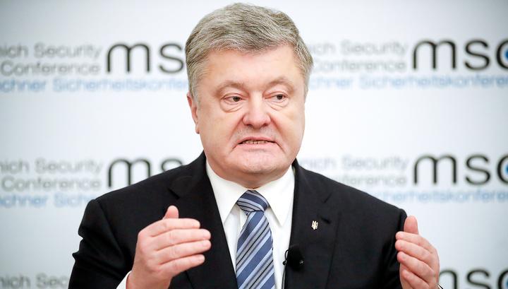 Порошенко: Украина идет правильным путем, с ней советуется Британия