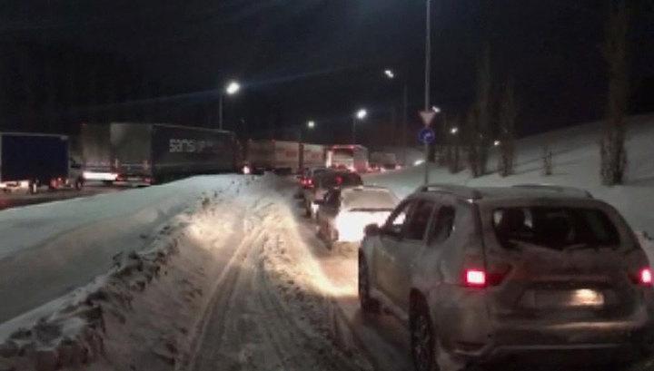 В Татарстане метель оставила без электричества 3,5 тысячи человек
