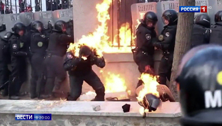 Пятая годовщина госпереворота: раскол Украины в Киеве отмечают как победу