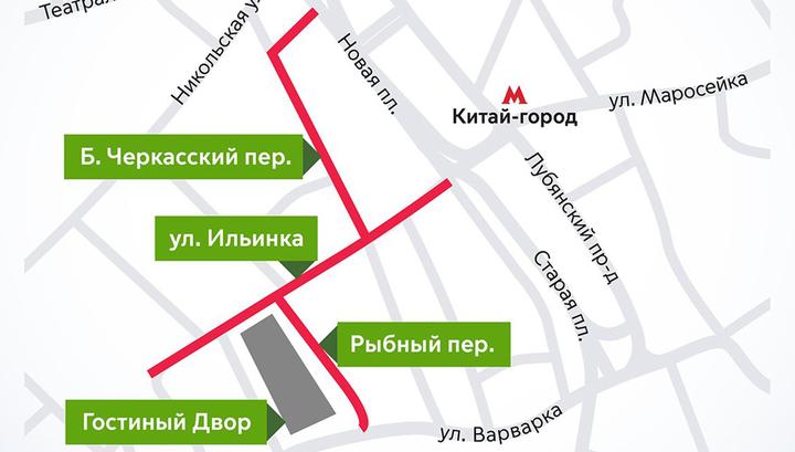 Центр Москвы перекроют в связи с оглашением президентом Послания Федеральному Собранию