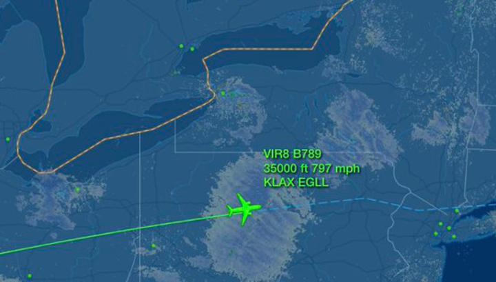 Попутный ветер заставил пассажирский Boeing лететь выше скорости звука