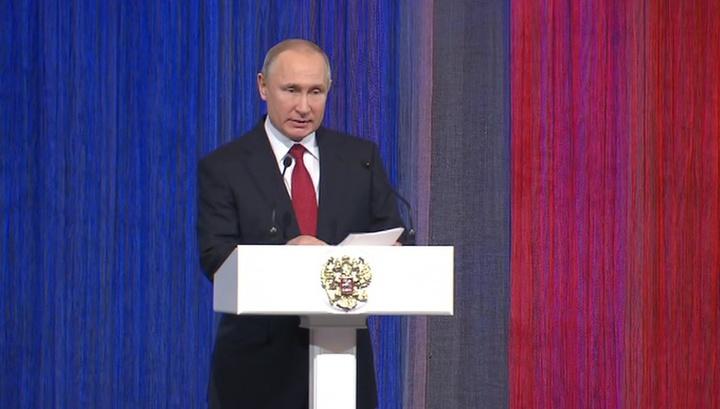 Путин уверен, что аналогов российского оружия еще долго не будет