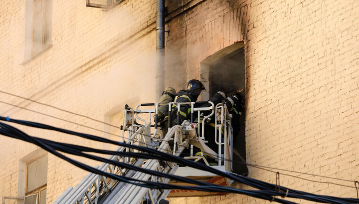 Пожар в московской консерватории спровоцировало замыкание