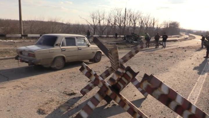 ВСУ Украины нарушили бессрочное перемирие в Донбассе