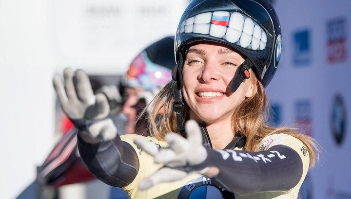 Елена Никитина впервые выиграла Кубок мира по скелетону