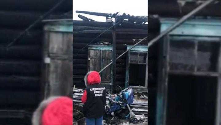 Число жертв пожара в Кузбассе возросло до восьми человек