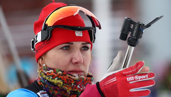 Биатлонистка Васильева может подать апелляцию до 14 марта