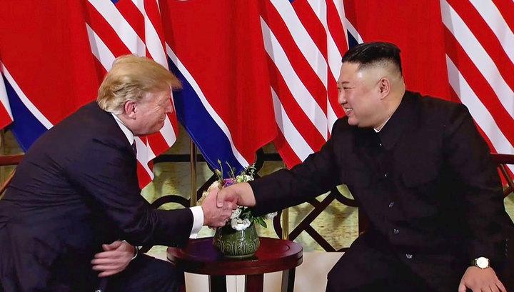 """""""Ах, если бы вы слышали этот диалог"""". Трамп и Ким продолжат встречи 28 февраля"""