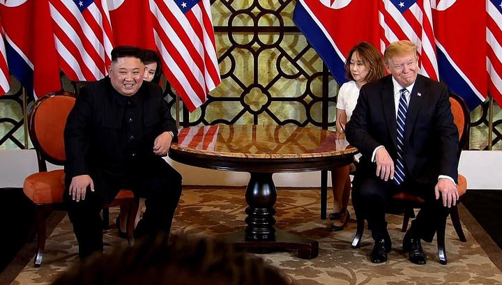 Не достигли соглашения. Саммит Трампа и Кима завершился раньше намеченного