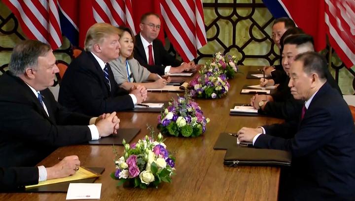 Трамп и Ким остались без обеда: никаких соглашений, никаких испытаний, санкции в силе