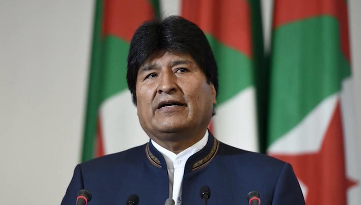 Мексика предоставила политическое убежище Эво Моралесу