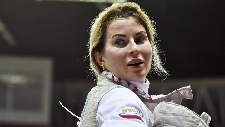 Фехтование. Рапиристка Инна Дериглазова взяла серебро чемпионата Европы