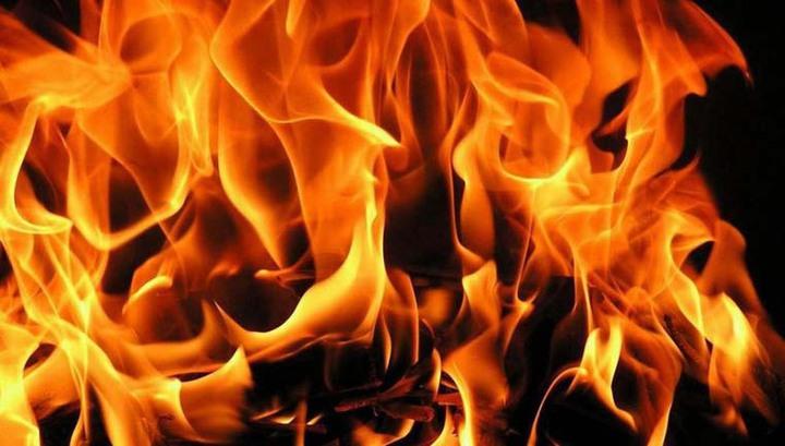 ЧП в Красноярском крае: крупный пожар на лесоскладе