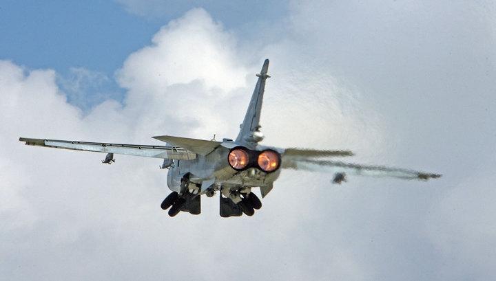 Тушение лесов: к Ил-76 и Ми-8 присоединились Су-24МР