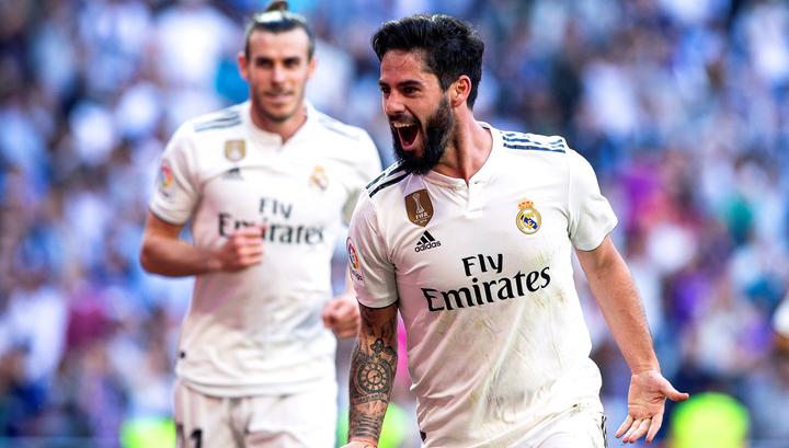 """Мадридский """"Реал"""" выиграл первый матч после возвращения Зидана"""