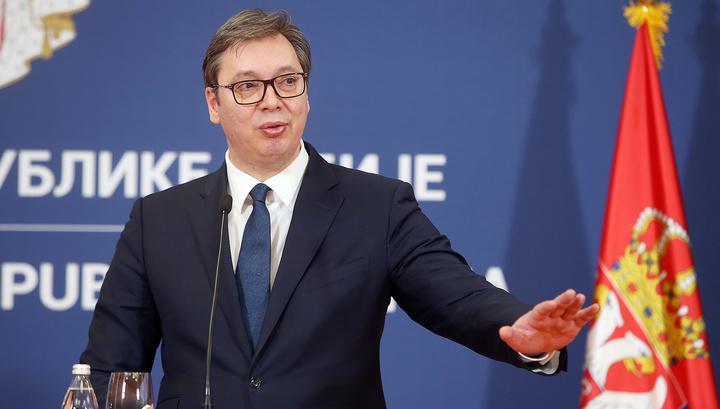 Президента Сербии Вучича освистали и назвали вором