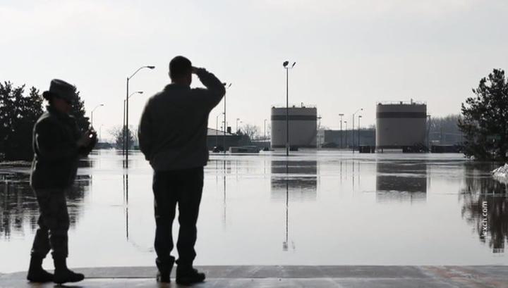 """Подмоченная репутация: в США затопило базу с """"самолетами судного дня"""""""