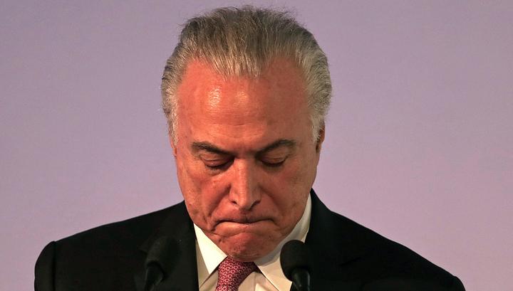 Бразильский спрут: экс-президент Темер 40 лет был главой мафиозного синдиката