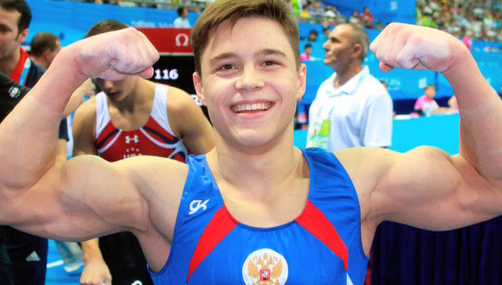 Гимнаст Никита Нагорный победил на этапе Кубка мира