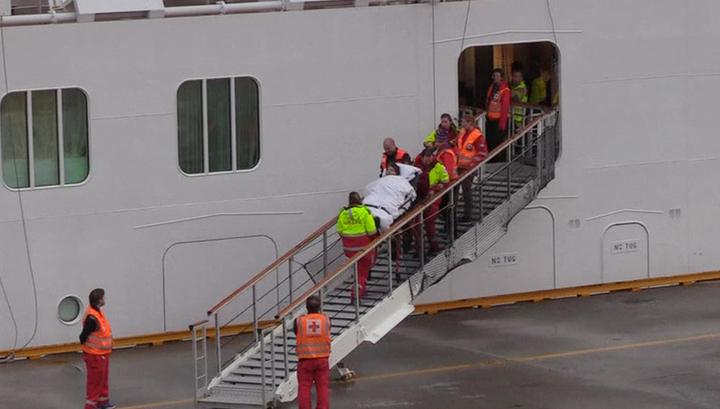 Лайнер Viking Sky прибыл в норвежский порт