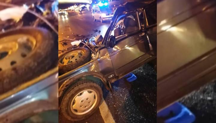 Мама с дочерью погибли в столкновении с Gelandewagen на западе Москвы
