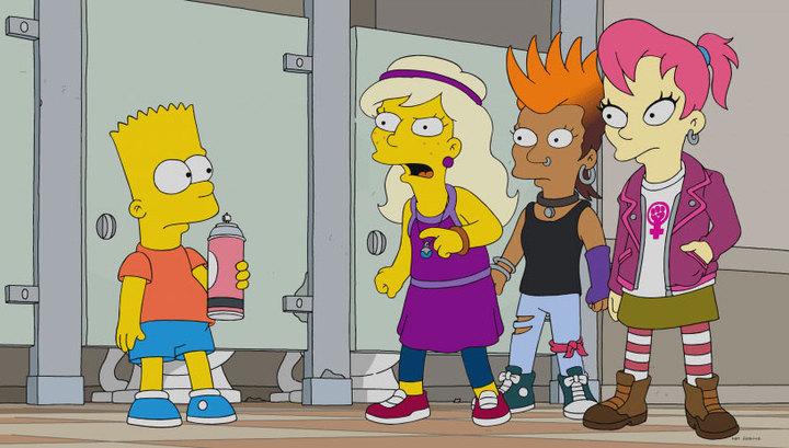 """В новой серии """"Симпсонов"""" показали пародию на Pussy Riot"""