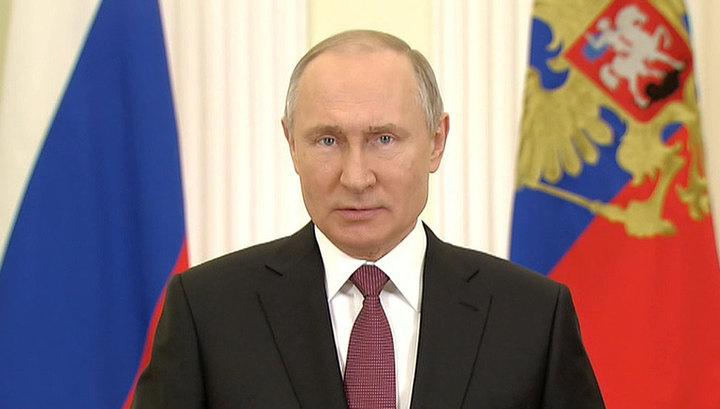Путин поздравил сотрудников Национальной гвардии с профессиональным праздником