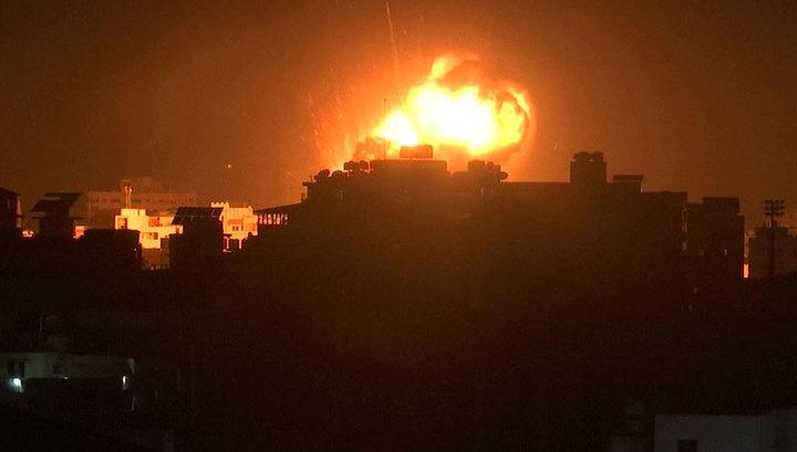 Армия обороны Израиля ответила на ракетный обстрел из сектора Газа