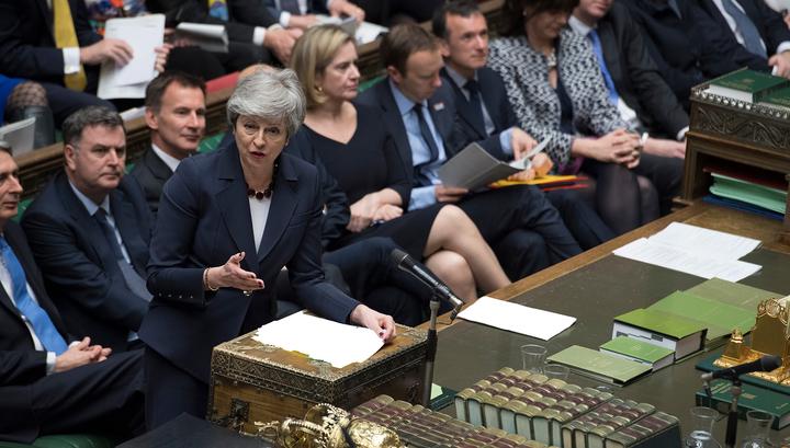 Британские парламентарии не поддержали ни один из восьми вариантов по Brexit