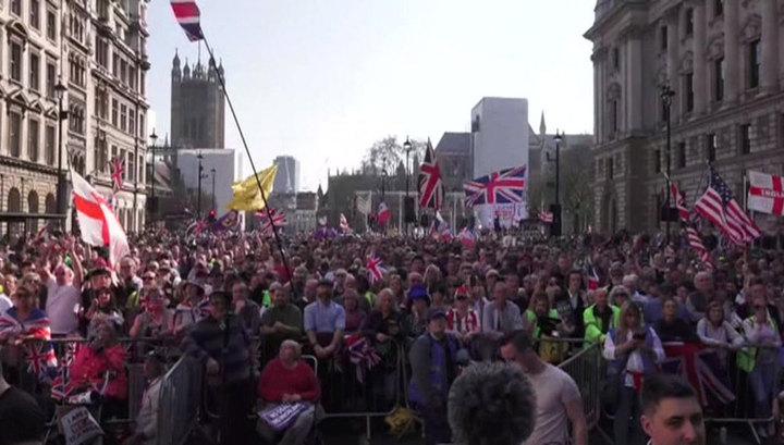 """В Лондоне задержали пятерых сторонников """"Брекзита"""""""
