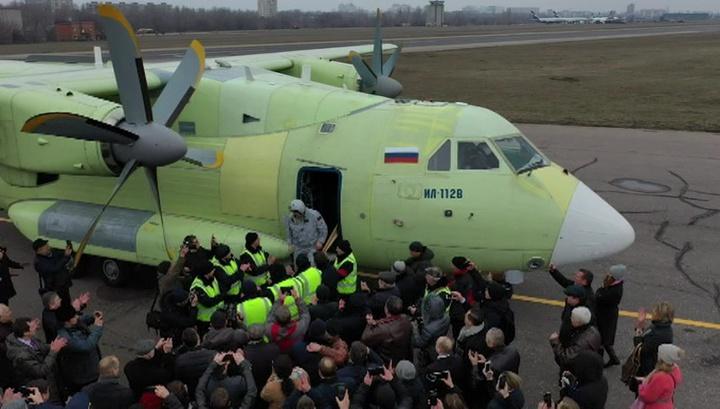 Ил-112В успешно совершил первый полет
