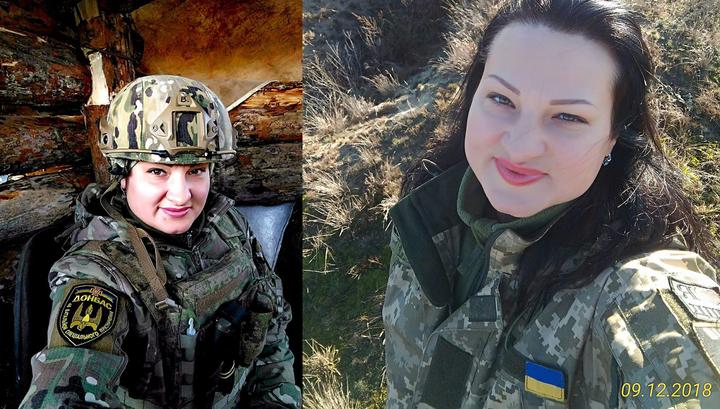 """""""Ведьма"""" над Донбассом: ополченцы уничтожили украинскую националистку"""
