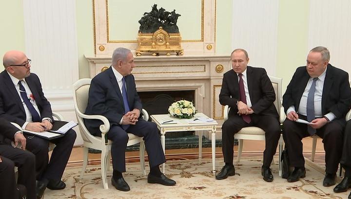 Путин и Нетаньяху поблагодарили поисковиков