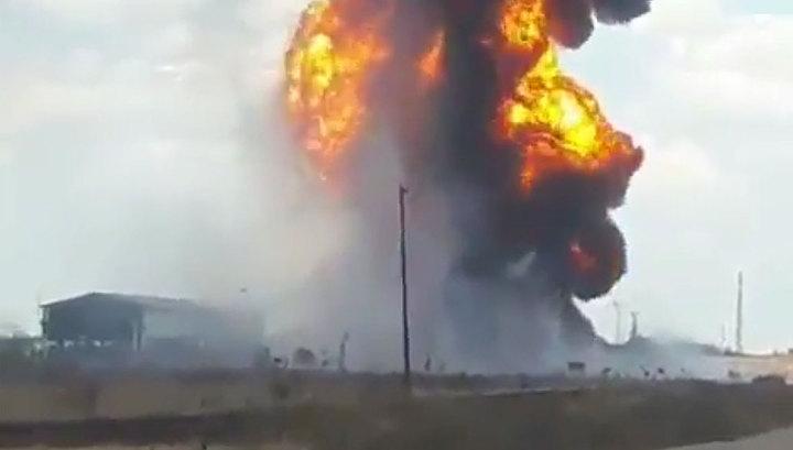 В Венесуэле взорвался нефтепровод. Видео