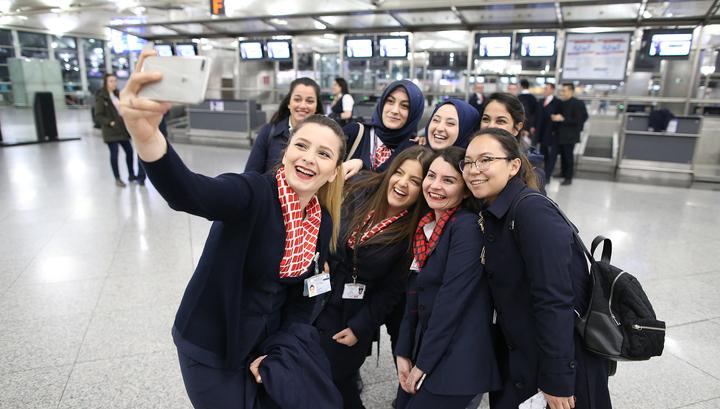 Международный аэропорт имени Ататюрка в Турции прекратил свою работу