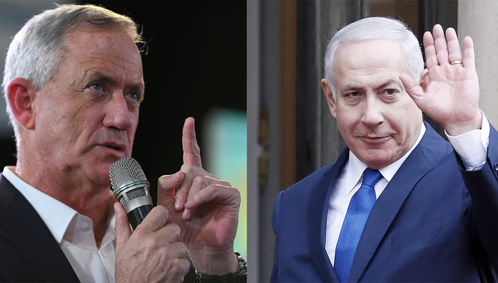 Шансы на победу главных соперников на выборах в Израиле сравнялись
