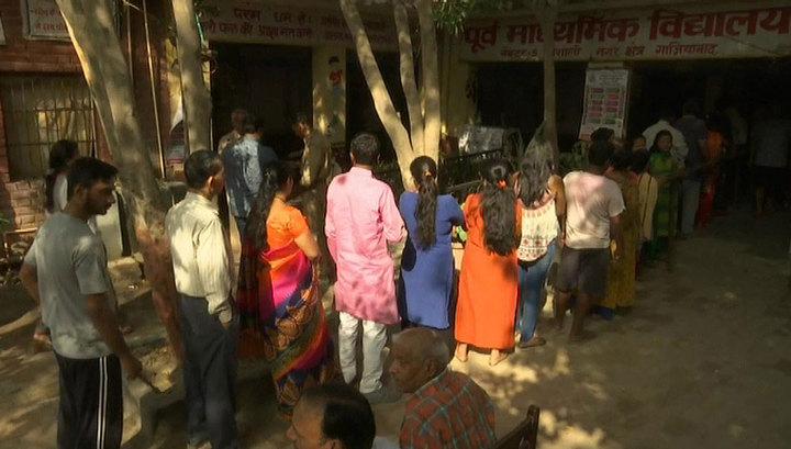 Парламентские выборы в Индии стали самыми дорогими в мире