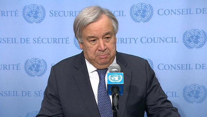 """""""Еще есть время прекратить огонь"""": генсек ООН призвал к политическому диалогу в Ливии"""