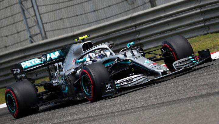 Формула-1. Боттас выиграл вторую практику в Шанхае, Квят - на 13-м месте
