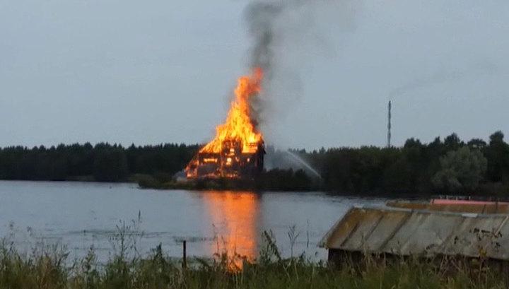 Святыни - жертвы пожаров: Кондопога восстановит свой храм-символ