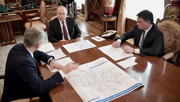 Путин поставил жесткие сроки строительства объединяющего Химки путепровода