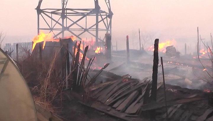 Пожары в Забайкалье: пострадали уже 14 населенных пунктов