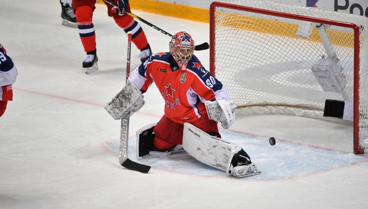 Голкипер ЦСКА Илья Сорокин признан самым ценным игроком Кубка Гагарина