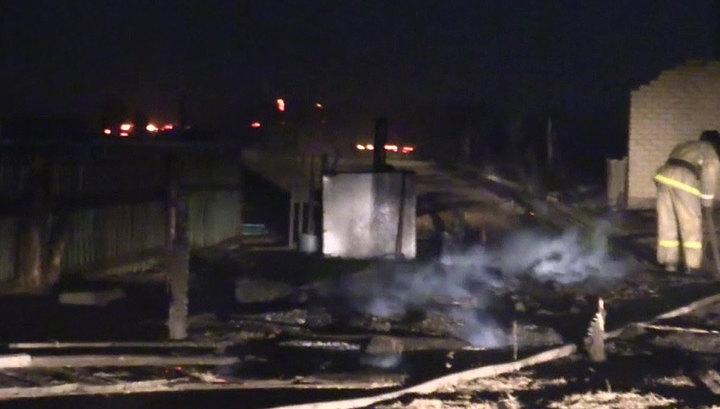 Пожары в Забайкалье: открыта горячая линия