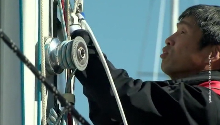 Японский слепой мореплаватель пересек Тихий океан