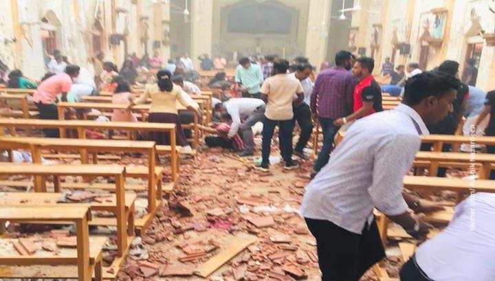 На Шри-Ланке прогремели взрывы: 20 погибших, 280 человек ранены