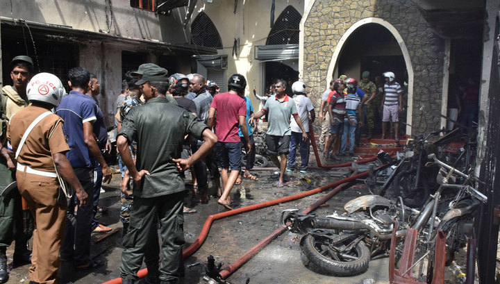 На Шри-Ланке прогремел седьмой взрыв